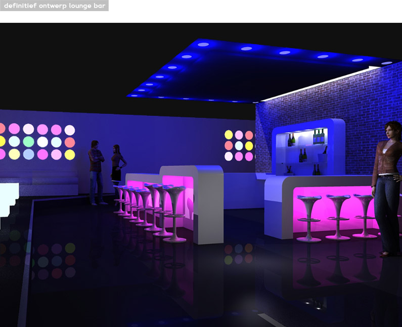 artist impressoin, led, led licht, licht, verlichting, visual, bar, lounge, restaurant, bar, club, discotheek, club, loungeclub, design, licht, Qcreationz, q creationz